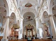 Die Pfarrkirche Eschenbach von innen. (Bild: Corinne Glanzmann (16. Februar 2018))
