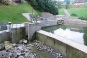 Das neue Kraftwerk an der Steiner Aa (Bild: zvg)