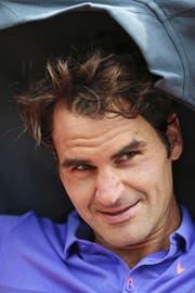 Roger Federer freut sich, dass 2015 eine Woche länger auf Rasen gespielt wird: «Diese Rasenwochen sind das absolute Highlight.» (Bild: EQ/Schreyer)