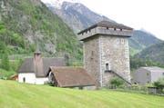 Erhält ein neues Schindeldach: Der Turm der Edlen von Silenen. (Bild: Baudirektion Uri)