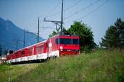 Zwischen Wolfenschiessen und Engelberg verkehren derzeit keine Züge mehr. (Symbolbild Neue NZ)