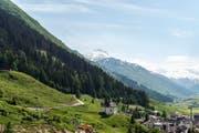 Der Kanton Uri, auf dem Bild Andermatt, soll fixe Waldgrenzen erhalten. (Bild: Keystone / Christian Beutler)