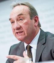 Georges Martin war während 35 Jahren Diplomat. (Bild: Marcel Bieri/Keystone (Bern, 26. Februar 2015))