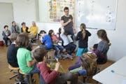 Ein Blick in eine Zentrralschweizer Volksschule. (Bild: PD Rosemarie Bugmann)
