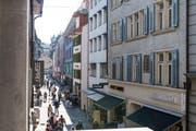 Via Hertensteinstrasse fuhr der mann mit dem Auto Richtung Steinenstrasse. Im Bild: Die Hertensteinstrasse in Luzern. (Bild: Archiv Neue LZ)