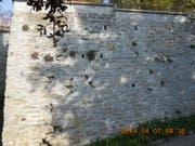 Die Arbeiten bei der Stützmauer beginnen nächstens. (Bild: PD)