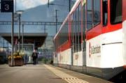 Zwischen Luzern und Horw verkehren zur zeit wegen einer Weichenstörung keine Züge. (Bild: Archiv LZ)
