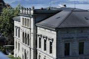 Das Regierungsgebäude am Zuger Postplatz. (Bild: Stefan Kaiser (Zuger Zeitung))