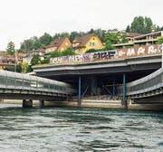 Die Autobahnbrücke in der Stadt Luzern – aufgenommen von Mario Burger. (Bild: Mario Burger)