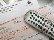 Gegen die Billag-Gebühren wird erneut eine Volksinitiative lanciert. (Bild: Keystone)