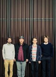 Timo Keller, Rees Coray, Mario Hänni und Jeremy Sigrist (v. l. n. r.) sind Hanreti. (Bild: Silvio Zeder)