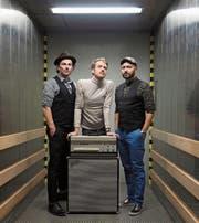 Hermann sind Hannes Herger, Dani Hug und Jonathan Winkler (von links). (Bild: PD)