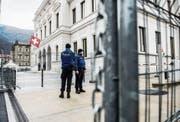 Das Bundesstrafgericht befasst sich morgen mit einem weiteren Schweizer Dschihadismus-Fall. (Bild: S. Golay/Keystone (Bellinzona, 29. Februar 2016))
