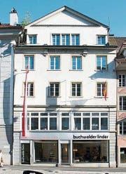 Die Fassade des Möbelhauses Buchwalder-Linder am Mühlenplatz 2. Bild: PD