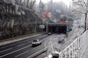 Ein Blick auf den Tunnel Sachseln. (Archivbild: Obwaldner Zeitung)