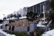 Hier in der Villa Butterfly wohnt Kimi Räikkönen. (Bild Werner Schelbert/Neue ZZ)