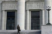 Das Bundesgerichtsgebäude in Lausanne. (Bild: Laurent Gillieron/Keystone)