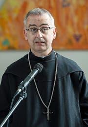 «Jesus verurteilt niemals Liebe.» Pater Martin Werlen, ehemaliger Abt in Einsiedeln. (Bild: PETER SCHNEIDER (KEYSTONE))