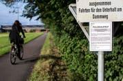 Am 21. Juli 2015 wurde auf dem Dammweg in Emmen eine 26-jährige Frau vergewaltigt. (Bild: Keystone / Alexandra Wey)