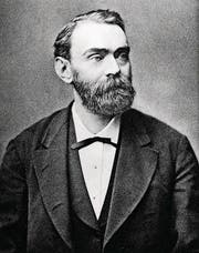 Alfred Nobel, Erfinder des Dynamits. (Bild: PD)