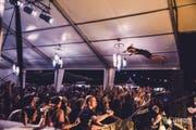 Auch Stagediving durfte nicht fehlen. (Bild: anshixarts.com)