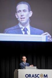 Khaled Bichara, seit Anfang Jahr CEO von Orascom Development. (Bild: Keystone/Alexandra Wey)