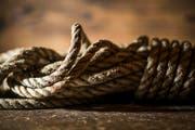 Eines der bei der Erstbesteigung eingesetzten Seile. (Bild: Keystone)