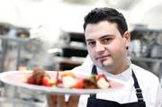 Ricardo Machado im Restaurant Baarcity in Baar. (Bild: Stefan Kaiser / Neue ZZ)