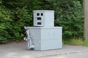 Neuer Blitzkasten: Die Luzerner Polizei schafft solche semistationären Radaranlagen an. (Bild: Luzerner Polizei)