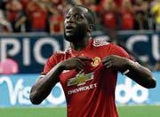 Der Toptransfer von Manchester United: Romelu Lukaku. (Bild: AP Photo/David J. Phillip (Houston, 20. Juli 2017))