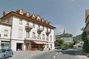 Kultur mitten im Dorf: Im Hotel Port wird der Entlebucher Kultursaal entstehen. (Bild: maps.google.ch/Screenshot LZ)