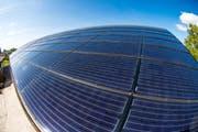 Erneuerbare Energien vermehrt nutzen – dem will sich der Kanton Luzern in der Totalrevision des kantonalen Energiegesetzes verschreiben. (Symbolbild) (Bild: Roger Gruetter / LZ)