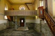 Innenansicht der Kapelle im «Dörfli». (Bild: PD)