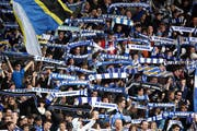 FCL-Fans in der Zone 2. (Bild Philipp Schmidli/Neue LZ)