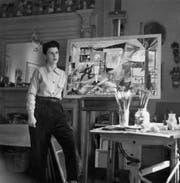 Die Luzerner Künstlerin Sonja Sekula im Sommer in New York (1945). (Bild: pd / Kunstmuseum Luzern)