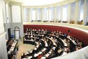 Symbolbild: Der Luzerner Kantonsrat in einer Sitzung. (Archivbild / Neue LZ)