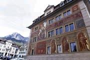 Das Rathaus in Schwyz. (Archivbild: Werner Schelbert (Schwyz, 25. Januar 2016))