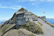 Das Gipfelrestaurant Rothorn. (Bild: pd)
