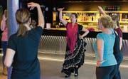 Auch in Zug wird drin sowie draussen getanzt. Beispielsweise Flamenco wie letztes Jahr mit Yuka Hayashi Brock. (Archivbild: Roger Zbinden)