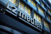 Medienhaus der LZ Medien an der Maihofstrasse in Luzern. (Bild: Pius Amrein/LZ)
