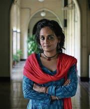 Ihr Buch will verwirren und aufrütteln: Arundhati Roy. (Bild: Hindustan Times/Getty (Mumbai, 30. September 2009))
