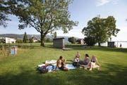 Die Oeschwiese liegt dierekt am See. (Bild: Archiv / Neue ZZ)