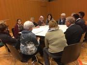 Austauschsplattform Bevölkerung Asylsuchende in Wauwil (Bild: PD)