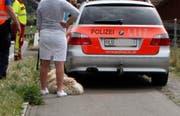 Glück im Unglück: Auch der Hund blieb unverletzt. (Bild: Geri Holdener)