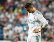 Zuletzt gab es für Cristiano Ronaldo ungewohnte Enttäuschungen mit Real Madrid zu verkraften. (Bild: Juanjo Martin/EPA (Madrid, 20. September 2017))