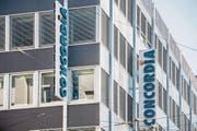 Am Concordia-Hauptsitz in Luzern wird es zu Entlassungen kommen. (Bild: Nadia Schärli (Luzern, 25 August 2017))