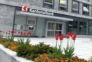 Hauptsitz der Nidwaldner Kantonalbank in Stans. (Bild: Archiv / Neue NZ)