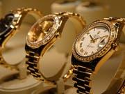 Die Wertberichtigung der Messegebäude in Basel wurde nötig auf Grund der Verkleinerung der Uhren- und Schmuckmesse Baselworld im laufenden und den darauf folgenden Jahren. (Archiv) (Symbolbild: Keystone/EQ IMAGES/MELANIE DUCHENE)