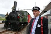 Am 7. September bietet der Verein Historische Seetalbahn auf der Strecke zwischen Hochdorf und Lenzburg eine Fahrt mit der Dampflok an. (Archivbild Neue LZ)