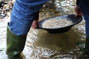 Wegen des Goldwaschens kam es zu einem grossen Streit, der vor diversen Gerichten endete. (Symbolbild Neue LZ)